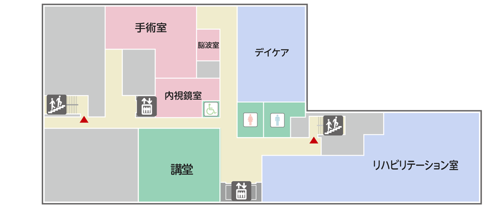 2階 フロアマップ